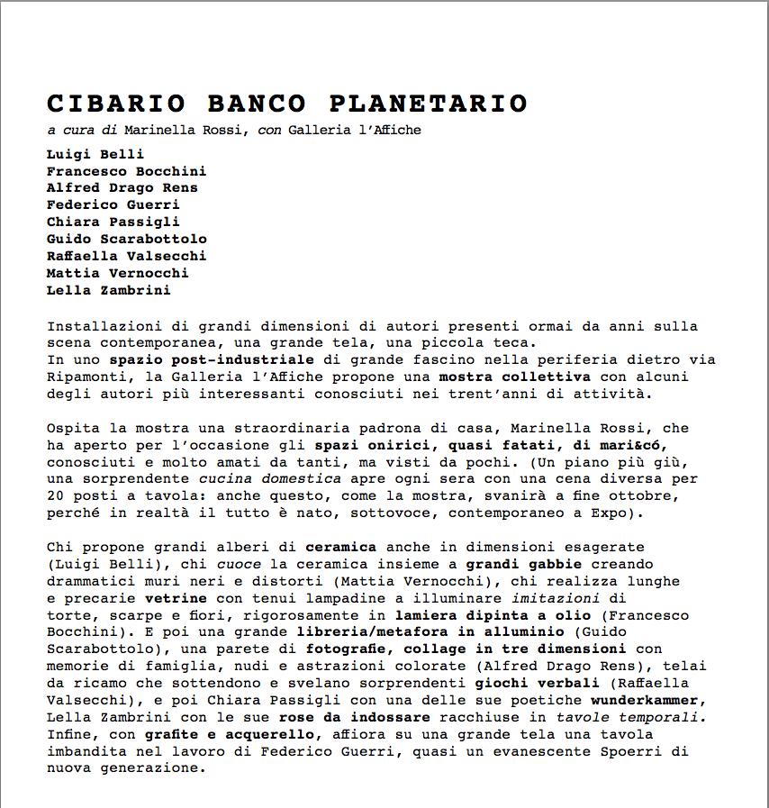 CIBARIO BANCO PLANETARIO
